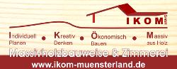 IKOM Münsterland GmbH | Massivholzbauweise & Zimmerei